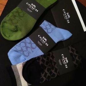 Coach socks
